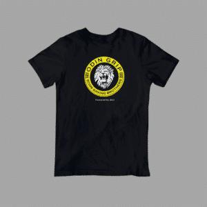 black Odin Grip Tshirt